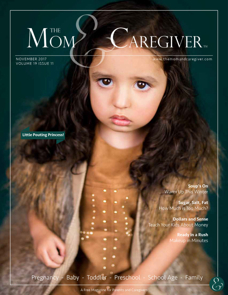 mom and caregiver november 2017 cover image