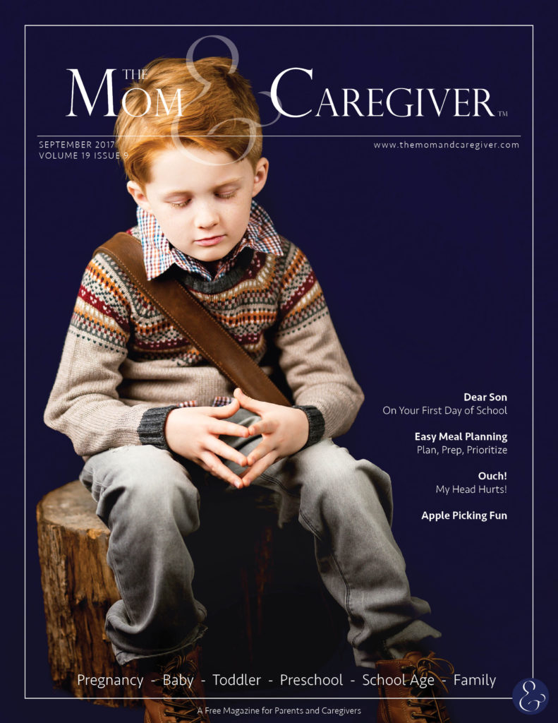 mom and caregiver september 2017 cover image